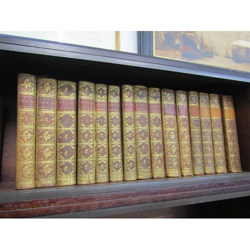 181 - JOHN MOORE, collection of uniformly bound works by John Moore, mainly first editions comprising of