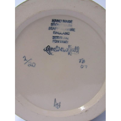 47 - ANDREW HULL, Burslem Pottery, signed limited edition