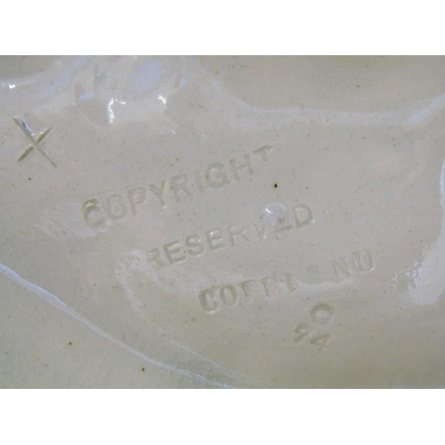 50 - VICTORIAN COPELAND MAJOLICA,  Cherub centre piece (damaged), 12
