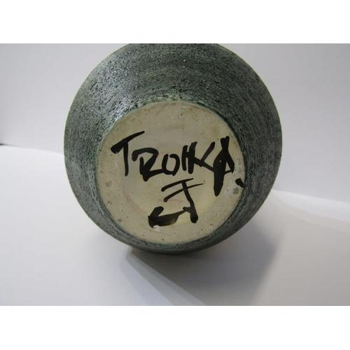 65 - TROIKA, blue ground 10