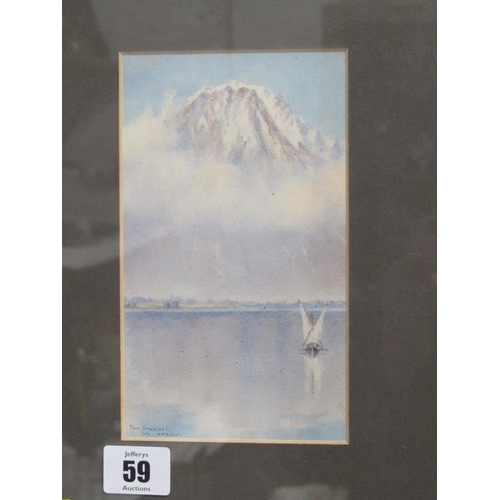 59 - N. H. SILVER, signed watercolour