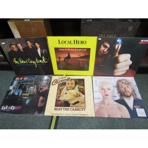 115 - VINYL ALBUMS, collection of rock albums including Chicago and Reo Speedwagon