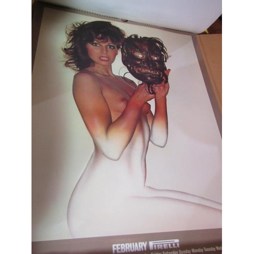 470 - PIRELLI PIN UP CALENDER, 1973 in original box...