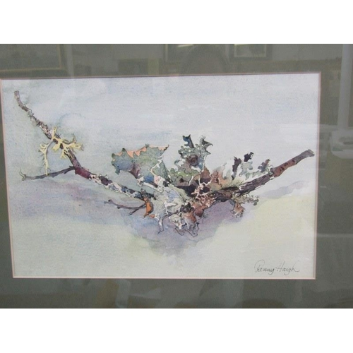 474 - E. CHADDER, Signed water colour 'On the Ottery' 6.5
