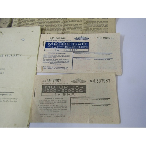 159 - WWII, Ministry of Home security booklet 'Objects Dropped From The Air' also American Expeditionary F...