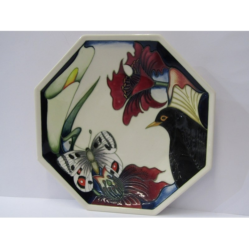 26 - MOORCROFT, signed limited edition 1997 Commemorative plate, 8.75
