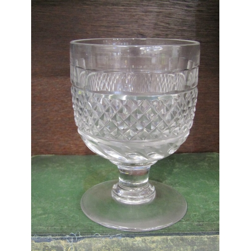48 - ANTIQUE GLASSWARE, set of 5