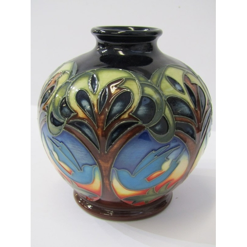 53 - MOORCROFT, signed limited edition 2010 spherical 4.5
