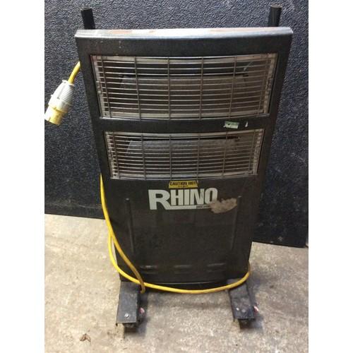 29 - COLLECTION PAR; plus VAT RHINO workshop/paint shop heater-110 volt