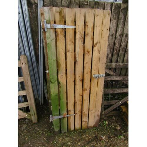 36 - COLLECTION LUXULYAN;  6FT high garden gate/door