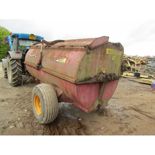 41 - COLLETION LUXULYAN; Marshall model 70 dung spreader, 7.5 cubic yard dung spreader (worked this year)
