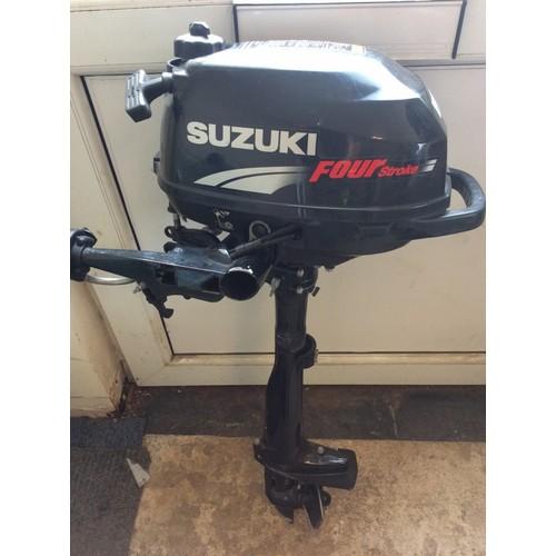 56 - COLLECTION PAR; SUZUKI 2.5 HP 4 STROKE OUTBOARD ENGINE