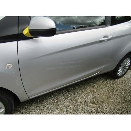 2 - COLLECTION LOSTWITHIEL; FORD KA ZTEC, 3 door hatchback, petrol, 1242cc, registration WK65 LGY, first...