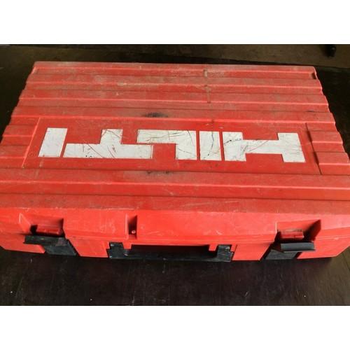 86 - COLLECTION PAR; plus VAT  Hilti DEC-A cordless SDS hammer drill, 36 volts (needs new battery)