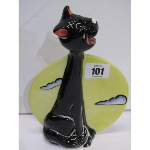 101 - LORNA BAILEY, 3 comical Cat figures