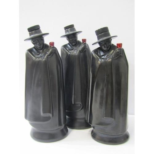16 - VINTAGE PORT BOTTLES, 2 Wedgewood Silver Jubilee don port bottles for Sandemans, together with an ea...