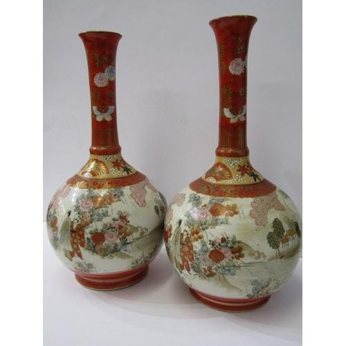 20 - ORIENTAL CERAMICS, pair of Kutani 13