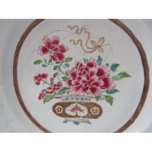 26 - ORIENTAL CERAMICS, 18th Century famille rose 12