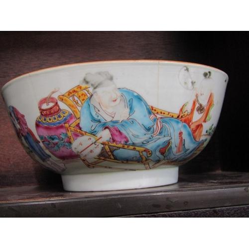 28 - ORIENTAL CERAMICS, 18th Century Chinese famille rose 8