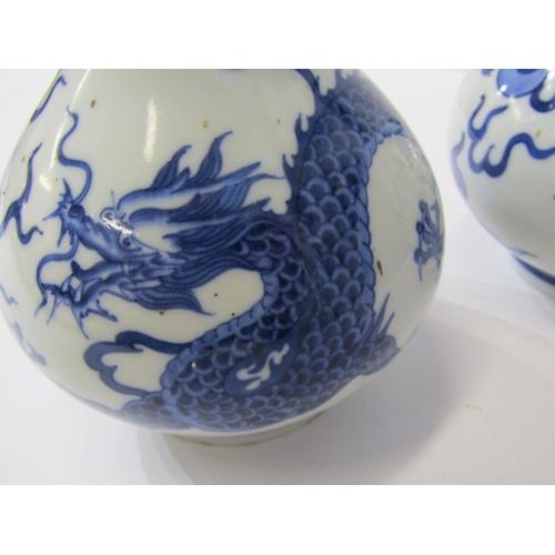 3 - ORIENTAL CERAMICS, pair of Chinese underglaze blue 6