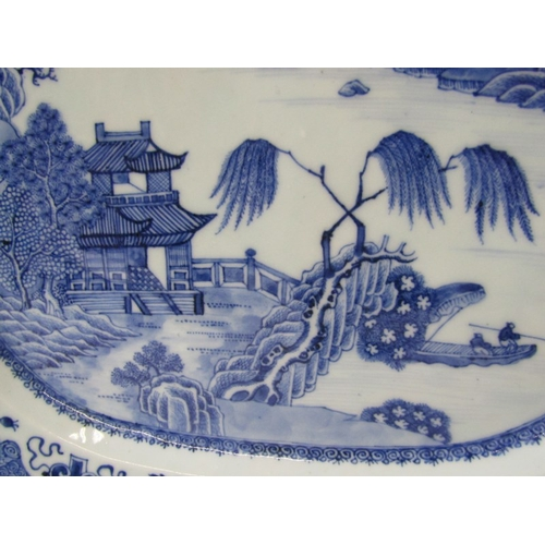 30 - 18th CENTURY CHINESE NANKIN octagonal