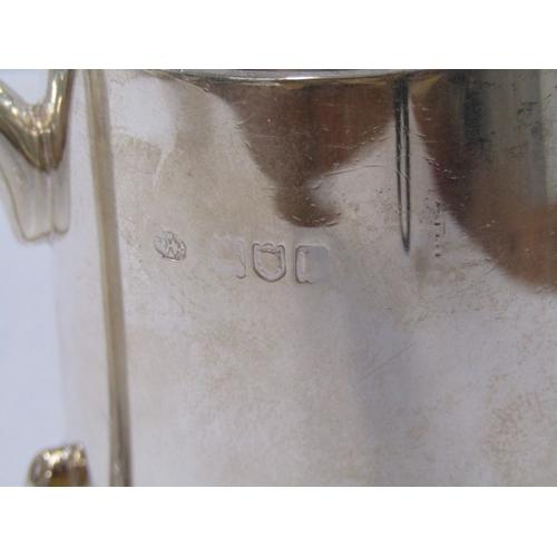 530 - SILVER CHRISTENING TANKARD, London 1903, 187 grams