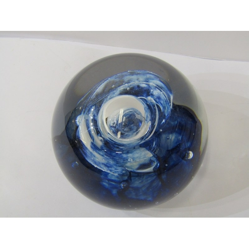 76 - PAPERWEIGHTS, Perthshire limited edition floral domed glass paperweight, also Caithness
