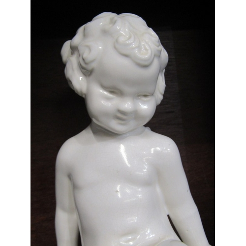 8 - PHOEBE STABLER,  seated child model