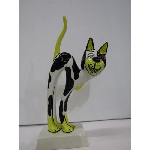 84 - LORNA BAILEY, 3 comical Cat figures