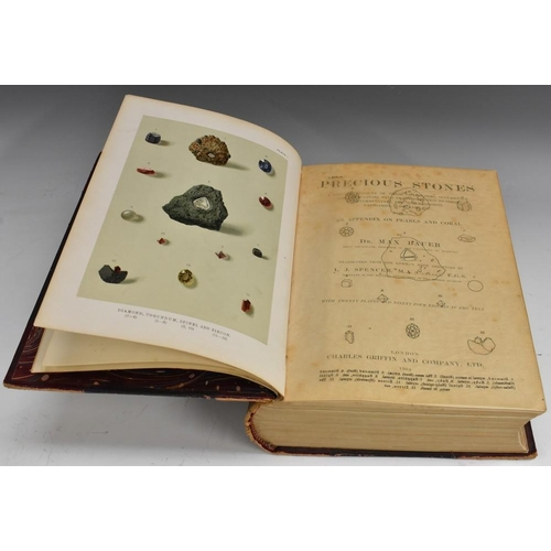 3667 - Gemology - Bauer (Dr Max), Precious Stones: A Popular Account of their Characters, Occurrence and Ap...