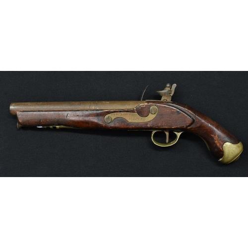 3027 - A World War II military issue pick head, by Brades Works [Oldbury], 31cm long, broad arrow mark, dar...