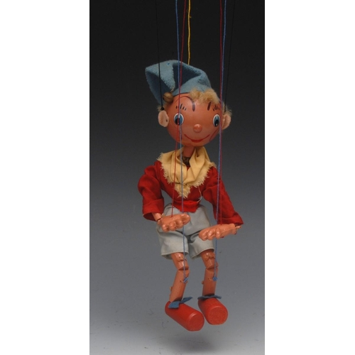 38 - SS Noddy (small Ball Head version) - very rare, Pelham Puppets  SS type, small round wooden head, la...