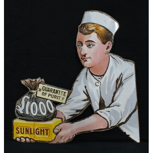 2236 - Advertising, Lever Brothers, Sunlight Soap – a late 19th/early 20th century 'Baker Boy' (facing left...