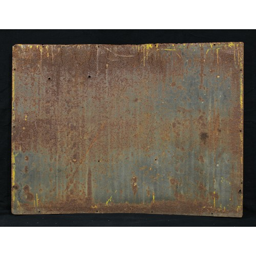2237 - Advertising, Musical Interest – a large early 20th century rectangular shaped pictorial enamel sign,...
