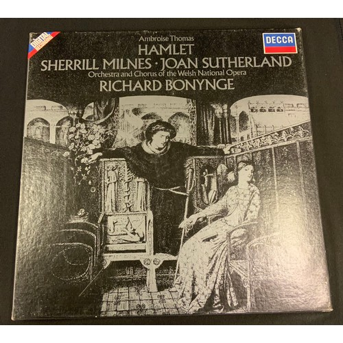 12 - Autographs & Vinyl Records - Opera and classical music autographed vinyl signatures inc Joan Sutherl...