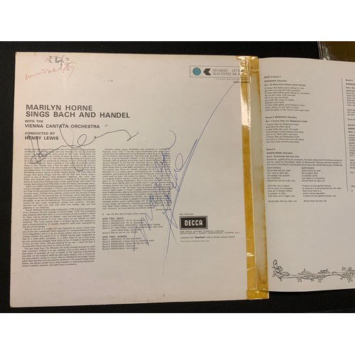 20 - Autographs & Vinyl Records - Opera and classical music autographed boxed sets etc signatures inc Mar...