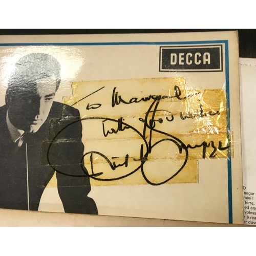 44 - Autographs & Vinyl Records - Opera and classical music autographed boxed sets etc signatures inc Joa...