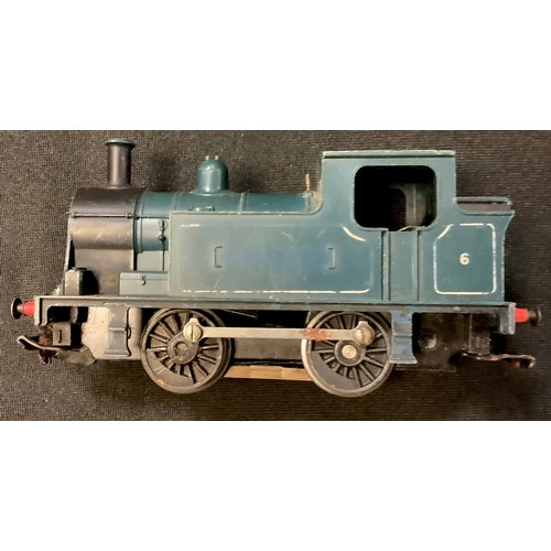 155 - Triang 00 gauge - R357 loco; Tri-ang RS34-PO Transcontinental Diesel Passenger Set (blue/yellow); ot...