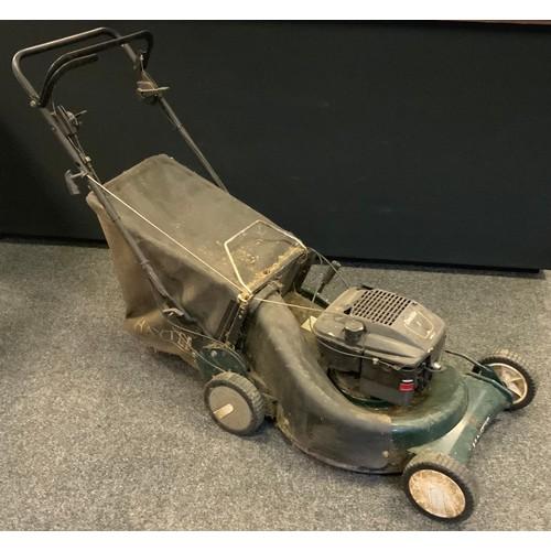 251 - Garden items - a Hayter petrol lawn mower.