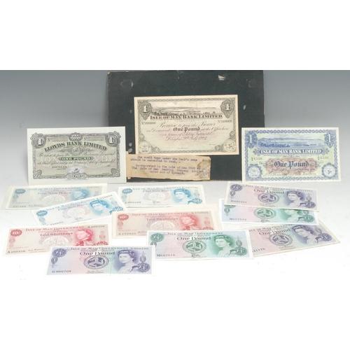 3936 - Banknotes, GB, Isle of Man: Isle of Man Bank Limited £1, No. 1530, Douglas, 2nd February 1959, signe...