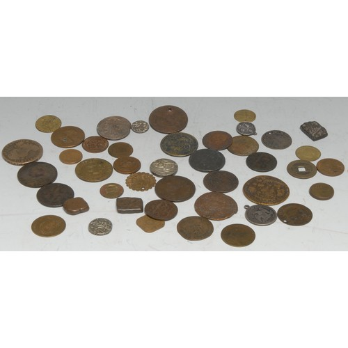 3933A - Coins, Tokens and Jetons - GB and World, 18th century and later, predominantly AE, various Islamic c...
