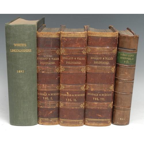4203 - Topography - Dugdale (Thomas) & Burnett (William Civil Engineer), Curiosities of Great Britain/ Engl...