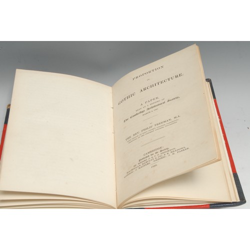 4113 - Antiquarianism - Archaeological Pamphlets, a sammelband of six titles: The Archaeological Journal, M...
