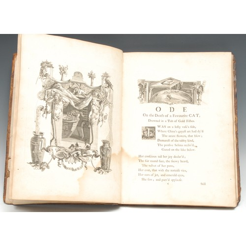 4153 - Gray [(Thomas)] & Bentley [(Richard, illustrator)], Designs by Mr. R. Bentley, for Six Poems by Mr. ...