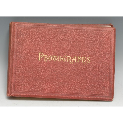 4087 - Photography - Photographs, a late Victorian album, illustrating the English coast and its fishermen,...