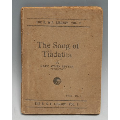 4172 - Military History - World War One, Macedonian/Salonica Front, Great War Poetry - Rutter (Capt. Owen, ...