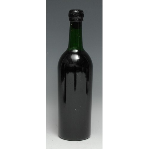 3964 - Bredon Manor 1871 Port, [75cl], typically unlabelled, level at shoulder, black wax seal intact but w...