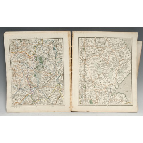 4137 - Cartography - Cary [(John)], Cary's New Map of England and Wales, with part of Scotland, second edit...
