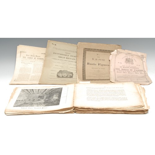 4209 - Whittock (Nathaniel), The Oxford Drawing Book, or the Art of Drawing, and the Theory and Practice of...