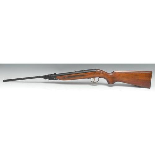 3908 - A Webley Jaguar .177 calibre break-barrel air rifle, by Webley & Scott, Birmingham, 36cm sighted bar...
